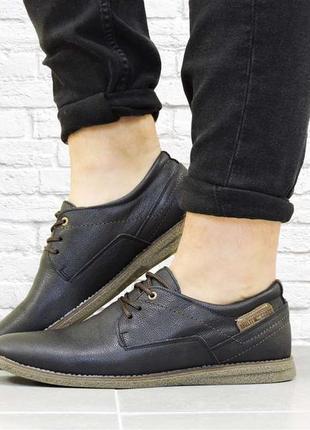 Мужские туфли men черные
