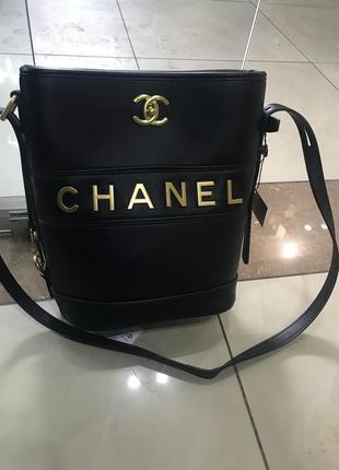 Кожаная сумка сумка кожаная chanel