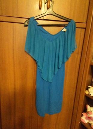 Плаття з шифоновою вставкою