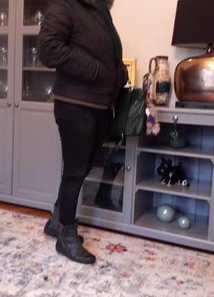 Куртка зимняя miss syxty оригинал c искуственным мехом, размер м-l3