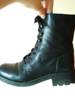 Ботинки andiamo кожаные с подкладкой, 40-41