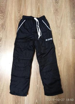 Зимние теплые штаны на флисе 122-146 размер