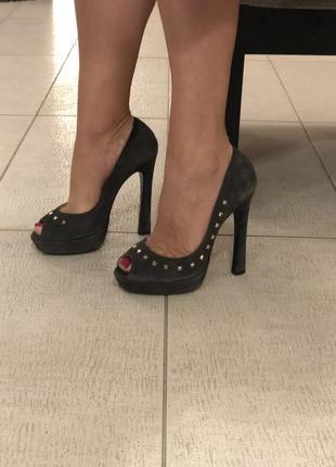 Туфли loriblu серые