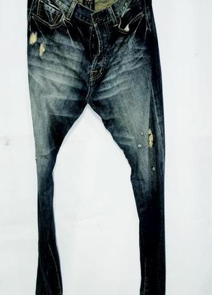 Ed hardy джинсы мужские оригинал размер 31/34