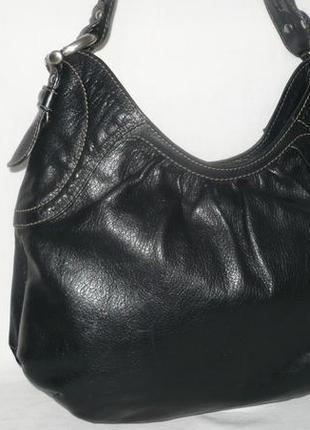 Coccinelle оригинал италия кожаная сумка на плечо качественная натуральная глянцевая кожа