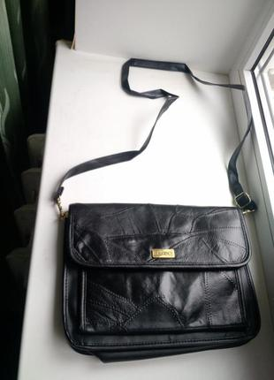 Beaugency, сумка-органайзер, кожа, кожзам, через плечо