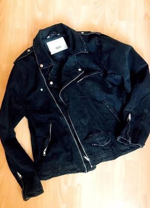 Куртка косуха в стилі гранж від zara