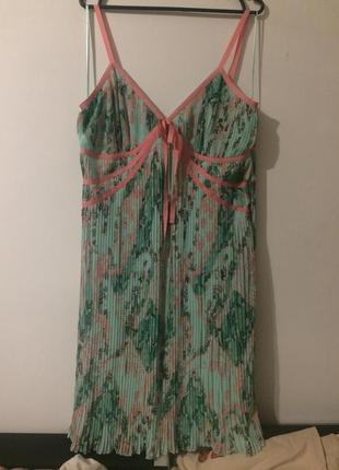 Amaranto matalan платье сукня сарафан гофрированное