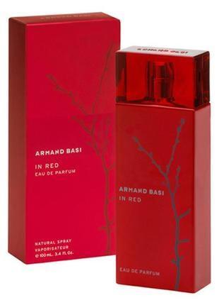 Armand basi in red eau de parfum парфюмированная вода,100мл оригинал