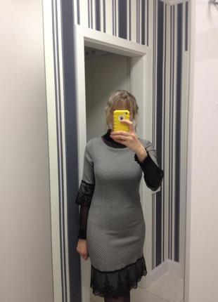 Платье классическое деловое офисное строгое