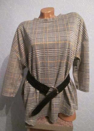 Оверсайз кофта-блуза