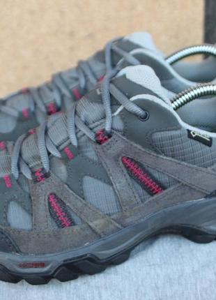 Ботинки salomon escambia 2 gtx оригинал 38,5р кроссовки непромокаемые