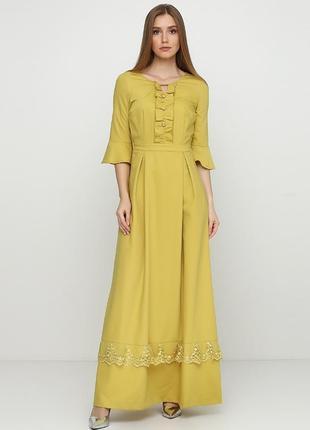 Красивенное и качественное платье в пол.