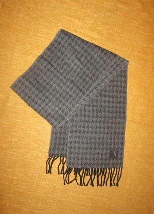 Кашемировый мужской шарф италия