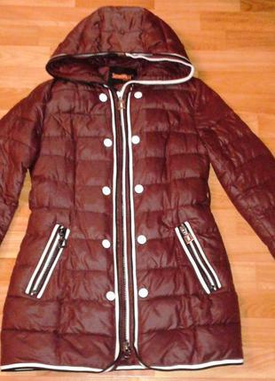 Пуховик куртка холлофайбер зима