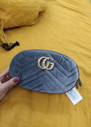 Супер цена!!! сумка на пояс бархатная