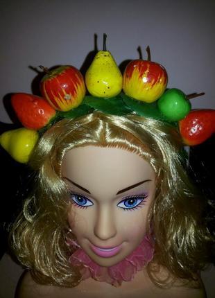 """Венок """"фрукты"""""""