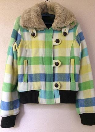 Теплая куртка из шерсти