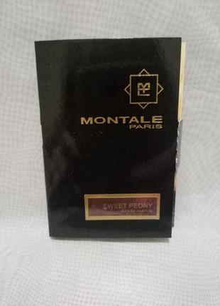 Montale sweet peony парфюмированная вода,виалка 2мл
