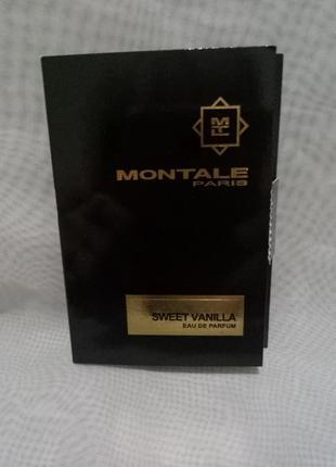 Montale sweet vanilla travel edition парфюмированная вода,vial 2мл