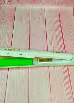 Плойка-гофре gemei 2957 – гарантирует превосходное мелкое гофрирование по всей длине волос