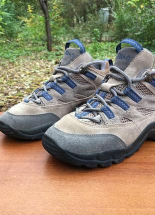 Треккинговые ботинки salomon x-hiking замшевые р.37 original