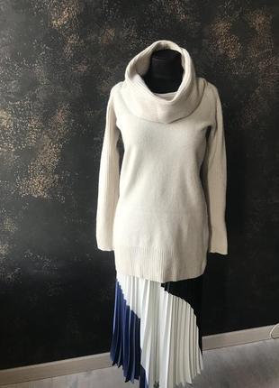 Gap свитер туника 46 шерсть ламы тёплый