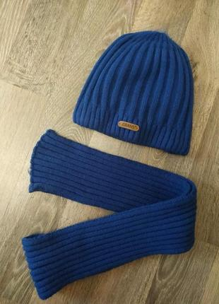 Набор,комплект шапка,шарф