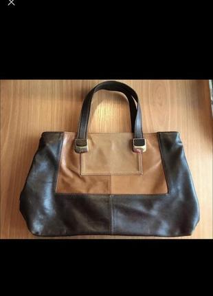 Классная кожаная италия сумка
