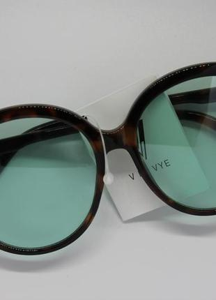 Большие круглые солнцезащитные очки  v by vye для женщин.