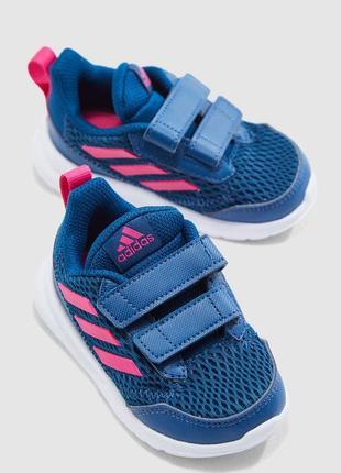 Adidas altarun крутые кроссовки адидас, р 20, uk 4k
