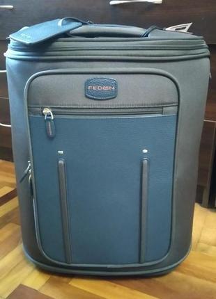 Сумка дорожная чемодан на колесах fedon италия