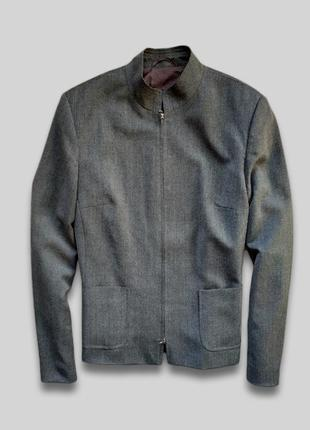 Легкая деловая курточка - пиджак bianca, оригинал, замки lampo, rrp +- 7000 грн