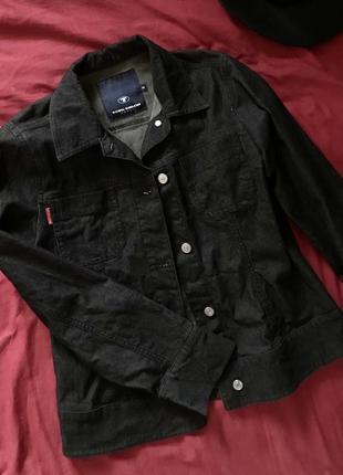Джинсовая рубашка tom tailor women