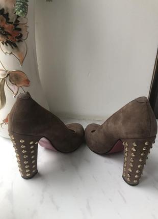 Туфли,натуральная кожа,замш!