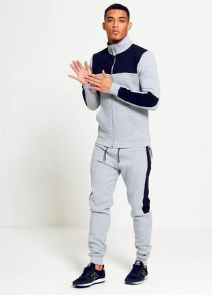 Теплый спортивный костюм мужской aarhon s-xl