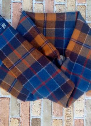 Кашемировый шарф премиум бренда  johnstons of elgin
