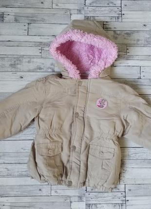 Куртка парка ergee на девочку