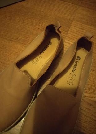 Туфли женские нубук 37размер