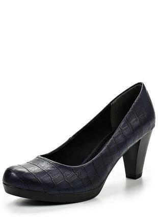 Туфли лодочки темно синиее очень удобные