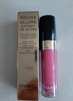 Помада блеск для губ rouge allure ectrait de gloss chanel chanel