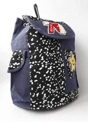 Женский рюкзак, тканевый рюкзак