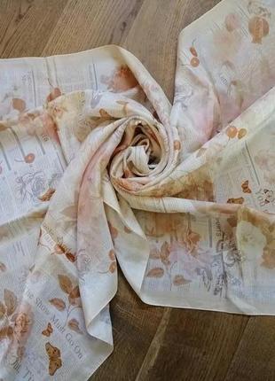 Galliano, john galliano шёлковый шарф