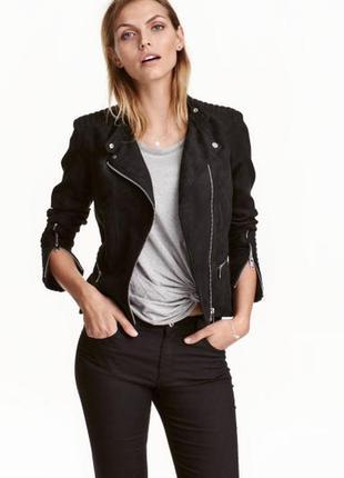 Biker jacket. куртка-косуха из искусственной кожи