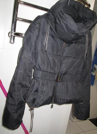 Пуховик куртка парка на пуху очень стильная