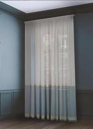 Тюли полоса
