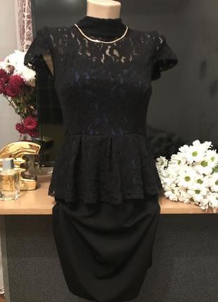 Платье с баской 👗