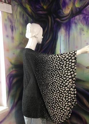 Шикарная блуза в горошек