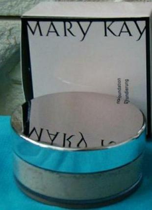 Рассыпчатая минеральная пудра mary kay