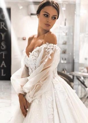 Весільна сукня cherry crystal